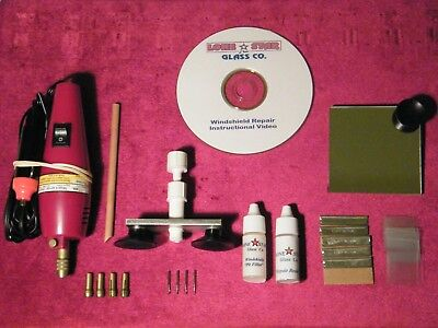 Windshield Repair Kit Auto Glass Rock Chip Resin Repair Kit