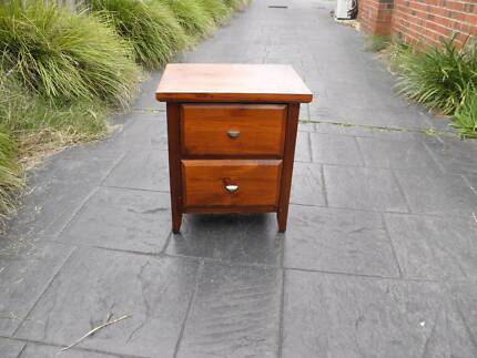 Brand new 3 drawers solid wood bedside table bedside tables solid wood dovetailed drawers bedside table on railes watchthetrailerfo
