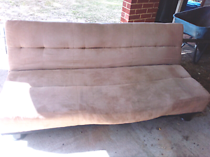 Suede style couch/sofa bed for free Guildford Swan Area Preview