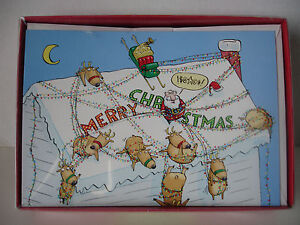 Hallmark Shoebox Christmas Cards Boxed Set of 18 Cards, Brand New