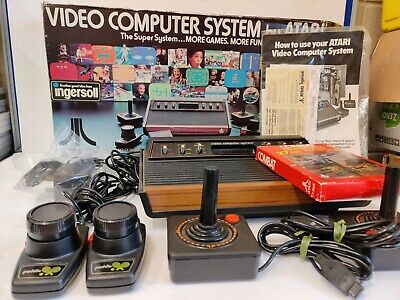 Atari 2600 Woody Light Sixer | Matching Serials | Boxed | Perfect Working Order