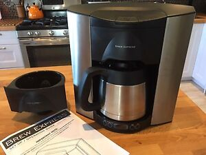 Brew Expess direct water connect coffee system
