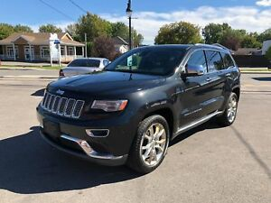 2014 Jeep Grand Cherokee SUMMIT 4X4 CUIR TOIT PANO GPS CAM  514-