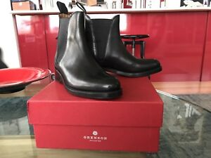 NEW Genuine Black Leather Boot, Size 7, Grenson