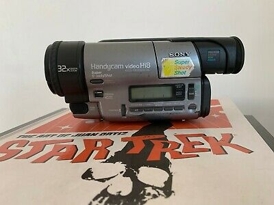 SONY CCD-TR3000E ANALOGUE CAMCORDER (Hi8 8mm Video 8 Playback SP/LP )