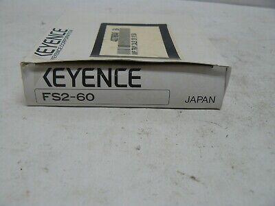 Keyence Fs2-60 Fiber Amplifier New