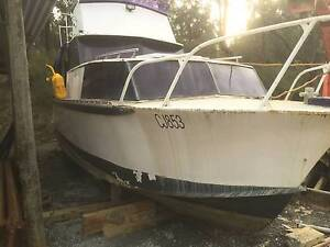 7.5 metre steel cabin cruiser boat restoration project Ferntree Gully Knox Area Preview