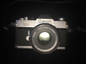Canon TX Film Camera in great condition (made in Japan)