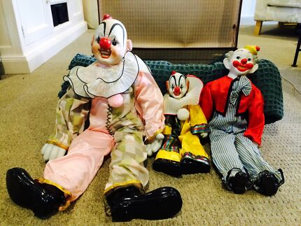 Clowns porcelain 30 years old Port Macquarie 2444 Port Macquarie City Preview