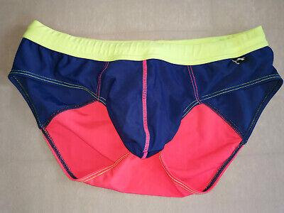 Andrew Christian Badehose (Andrew Christian Badehose mit Zugband Swimsuit Swimwear - mehrfarbig - Gr. L)
