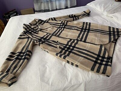 Jessica London Coat Burberry Inspired