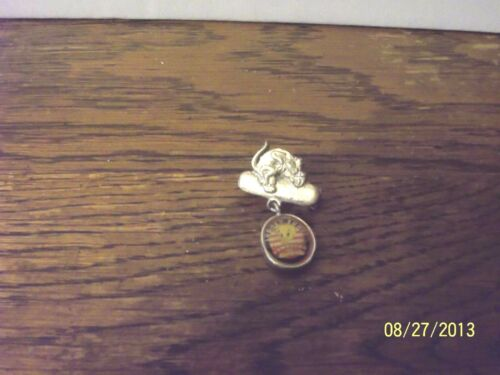1998 WARNER BROS LOONEY TUNES SYLVESTER & TWEETY BIRD METAL PIN