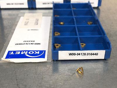 W00-04120.016440 Bk6440 Komet Carbide Insert Unisix 10 Pcs