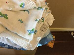 Aden &Anais baby wraps and baby blankets Wembley Cambridge Area Preview