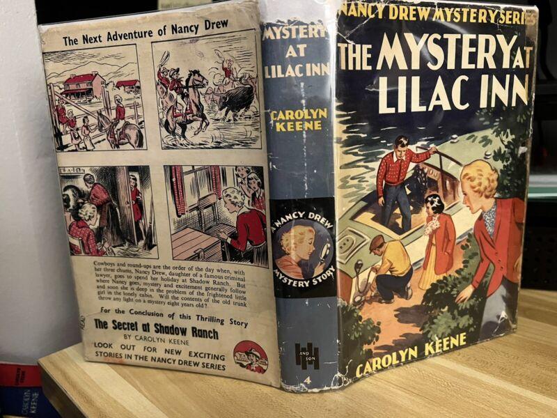 Nancy Drew #4 The Mystery at Lilac Inn UK dj Harold Hill by Carolyn Keene