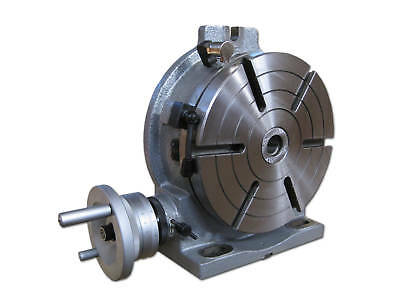 10 Precision Horizontal And Vertical Rotary Table