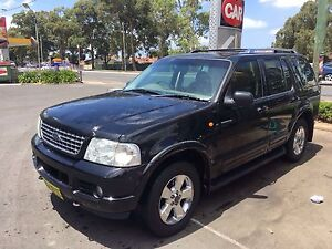 2004 v8 ford explorer 4x4 7seater Carramar Fairfield Area Preview