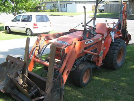 Kubota B20 Tractor with accesories! Broadbeach Waters Gold Coast City Preview