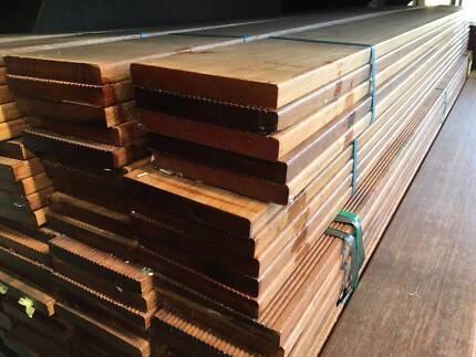 MERBAU DECKING PREMIUM GRADE 90x19 1.8m $3.90/lm ON SPECIAL