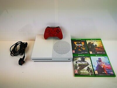 (Wi1) Xbox One S 1TB Console + Games