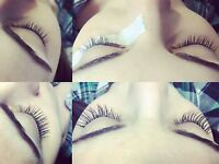 Eyelash extensions / students receive 20% off / free fills!