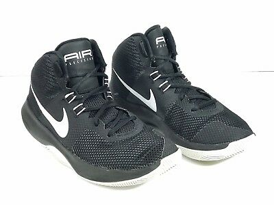 c1c7940c6831 2017 Nike Air Precision Mens Size US7 Black Basketball Shoes 898455-001  70  MSRP