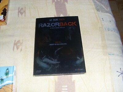 dvd film aventure horreur thriller RAZORBACK (sanglier) culte rare NO PAY PAL