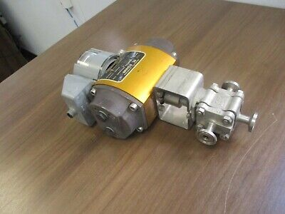 Flowserve Series 39 Pneumatic Actuator W Valve Positioner 1039 Sn R6 Used