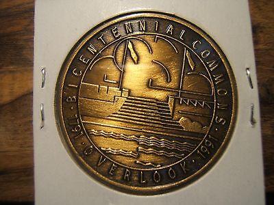 "MIDDLETOWN, OHIO 1791 - 1991 BICENTENNIAL MEDAL ""OVERLOOK"""