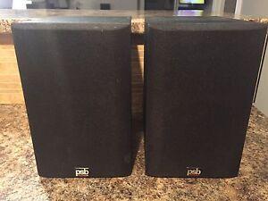 selling a pair of psb image 2B bookshelf speakers