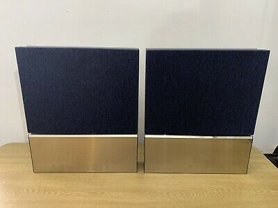B&O Beovox 3000 speakers-gray Type 6716—great Bang & Olufsen sound