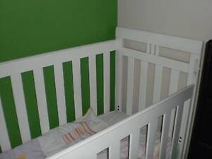 Timber Cot Top Quality plus Mattress Toowoomba Toowoomba City Preview