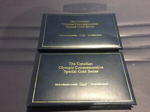 Canadien Olympic Gold stamps 23k