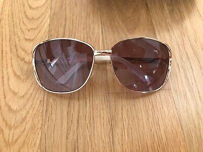 Sonnenbrille Rocawear Jay-Z Weiß Etui Damen Blogger Gold