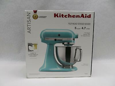 KitchenAid KSM150PSAQ Artisan Series 5 Quart Tilt-Head Stand Mixer - Aqua Sky