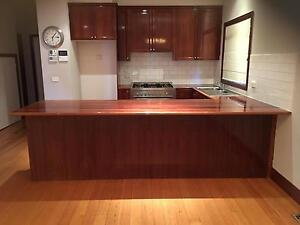 Kitchen - Jarrah cabinets and bench - excellent condition Murrumbeena Glen Eira Area Preview