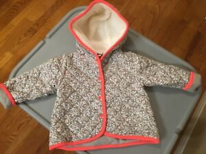 Baby Girl Jacket 12 Months- Like New
