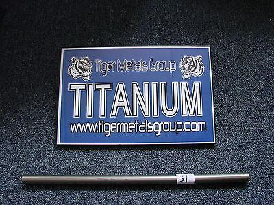 Grade 9 Titanium Tube 2 Od 0.070 Wall 23.25 Length 436jm