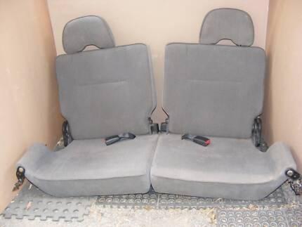 Nissan Patrol GU dickie seats
