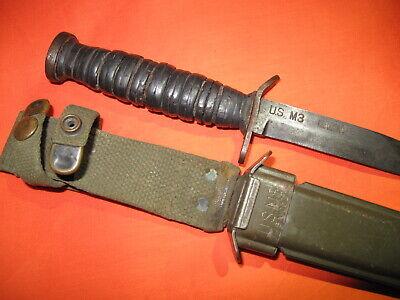 US WW2 Kinfolks M3 Blade Marked Knife
