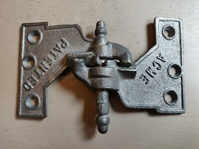 Antique Iron Hinges ACME Patented Shutter Hinge 88-376 - Free Shipping