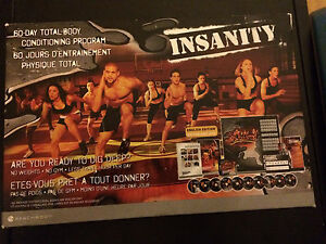 Insanity Total Body Conditioning Program