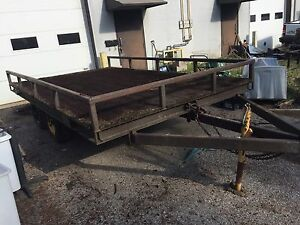 14 'x 8' Deck Over Utility Trailer (Flat-bed) 6 Ton
