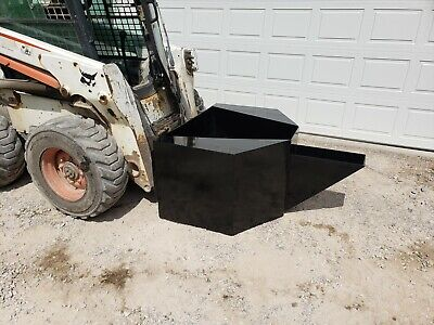 34 Yard Concrete Bucket Attachment Bobcat Skid Steer Flat Rate Shipping 250