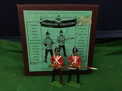 Lovely Britains Sherwood Foresters ''Two At The Ready'' Toy Soldiers 8815 RD8808