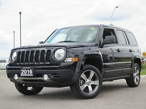 2016 Jeep Patriot HIGH ALTITUDE! Sunroof! Heated Seats!