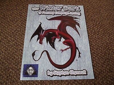 After Winter Dark A fantasy Campaign Setting Troll Lord Games RPG