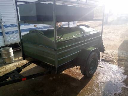 7x4 Box lockable box trailer Cooktown Cook Area Preview