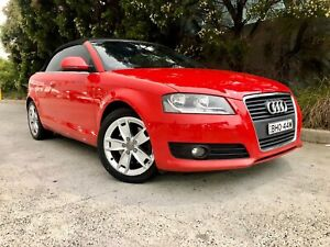 2009 Audi A3 2.0L Turbo MPFi 6 Speed Auto Direct Shift Convertible
