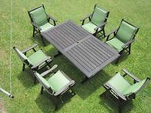REFURBISHED KWILLA 7 PIECE COURTYARD OUTDOOR SETTING CAN DELIVERY Aspley Brisbane North East Preview